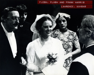 Old Franks second wedding, in the 1980 Lawrence production.