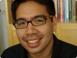 Edgar Mendoza (Carnegie Mellon University), the first recipient of the Paul Stephen Lim Asian-American Playwriting Award, 2009.