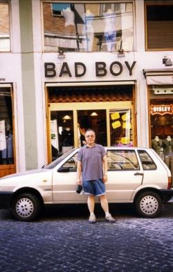 Paul in Canada, 2004.