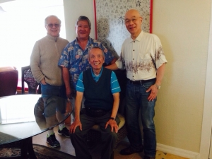 Four Lim Brothers in Daytona, 2014.