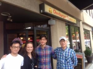 John's Cheeburger restaurant.