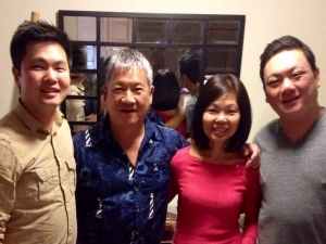 Peter's Family, 2014.