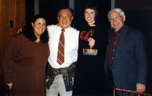 Megan Dillingham at the Kennedy Center in Washington, DC, April 1999.