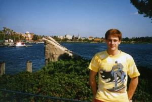 Mike Mummert in Orlando, early 1990s.