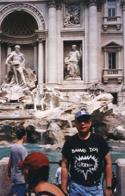Paul in Rome, Summer 1995.