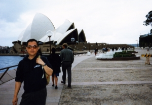 Paul in Sydney, early 1990s.