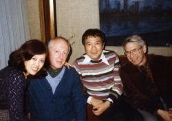 John and Fusako Krummel in Tokyo, mid-1970s.