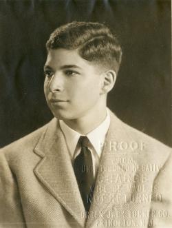 Grant at Princeton University, 1942.