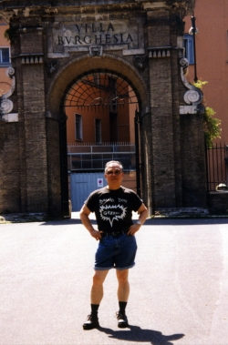 Paul in Italy, early 1990s.
