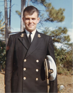 Tony Cius in uniform, January 1963.