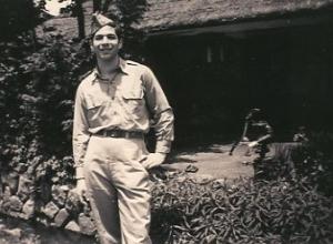 Grant Goodman in Japan, 1945-46.