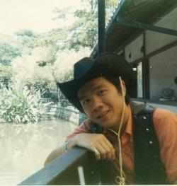 Paul in Kamakura, Japan, Sept. 1970