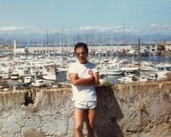 Paul in Cap d'Antibes, June 1981.
