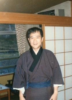 Paul in Kyoto, 1970.
