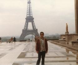 Paul in Paris, late 1970s.