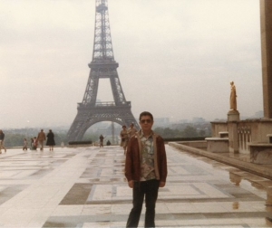 Paul in Paris, late 1970s.
