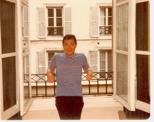 Paul in Paris.