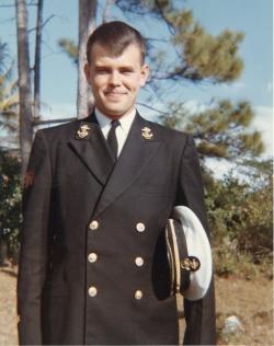 Tony Cius in uniform, January 1963.