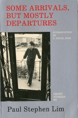 Cover of book of Paul's short stories.