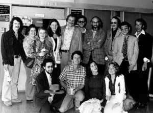 Part of the CONPERSONAS cast and crew which went to the Kennedy Center in 1976.