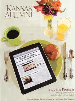 Kansas Alumni Magazine, 2010.