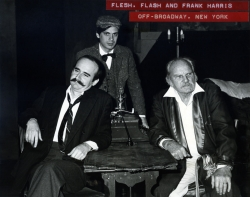 The Three Franks together, in the 1983  Off Broadway production.