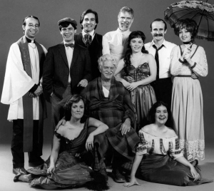 Cast photo of the 1983 Off Broadway production in NYC.