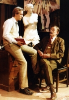 Craig Swanson and Amby Saricks in the 1980 Lawrence production.