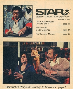 Kansas City Star Magazine Cover Story by John Bush Jones, Feb. 27, 1977.