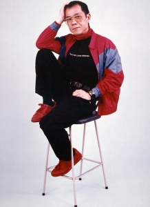 Paul in publicity photo for the Leicester production, 1983.