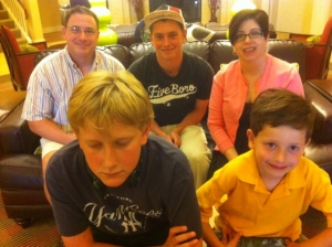 The Crespy Family in Lawrence, KS.