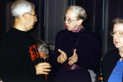 Grant Goodman with Beth Schultz at one of Paul's parties.