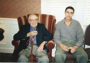 Ed Grier and Alan Newton, December 7, 2001.