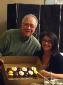 Surprise Party for Kelsey Murrell, 2012 Rhodes Scholar.