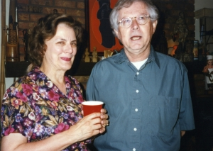 Marilyn Gridley and Jack Cohn at one of Paul's parties.