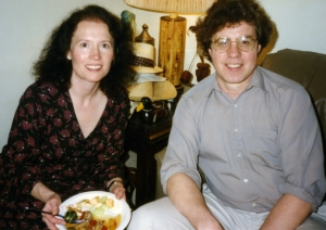 Sue and Tom Lorenz at one of Paul's parties.