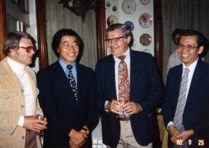 Yochan at Castle Tea Room party, 1980.
