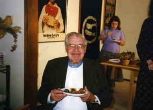 Ed Grier at one of Paul's parties, late 1980s.