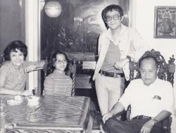 Frankie Jose in Lawrence, 1977.