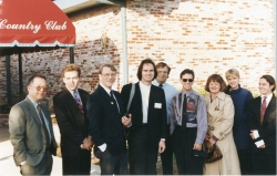 Paul takes a group to the William Inge Festival in Independence, KS in mid-1990s.