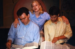 Publicity shot for Victim Art by Laura Graham, 1998.