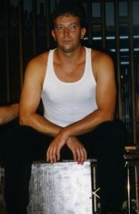 Dan Kulmala as one of the rent boys in Gross Indecency, 1998.