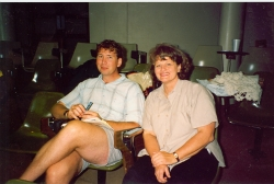Ken Willard and Kaye Miller, November 1994.