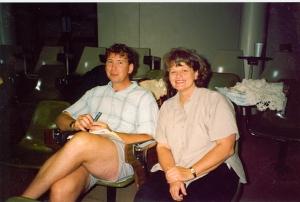 Ken Willard and Kaye Miller, November 1994.