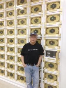 Paul at Sanctuarium, May 2013