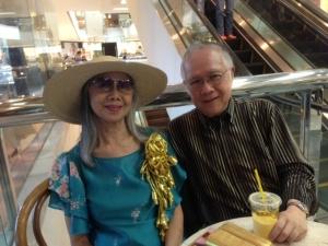 With Chiqui Cuadra