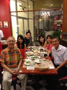 With Yulo Family, May 2013