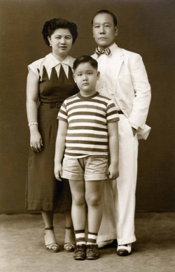 Another family photo from early 1950s.