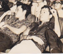 With Jolico Cuadra, mid-1960s.