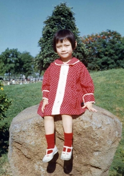 Debbie in Luneta Park, mid-1960s.